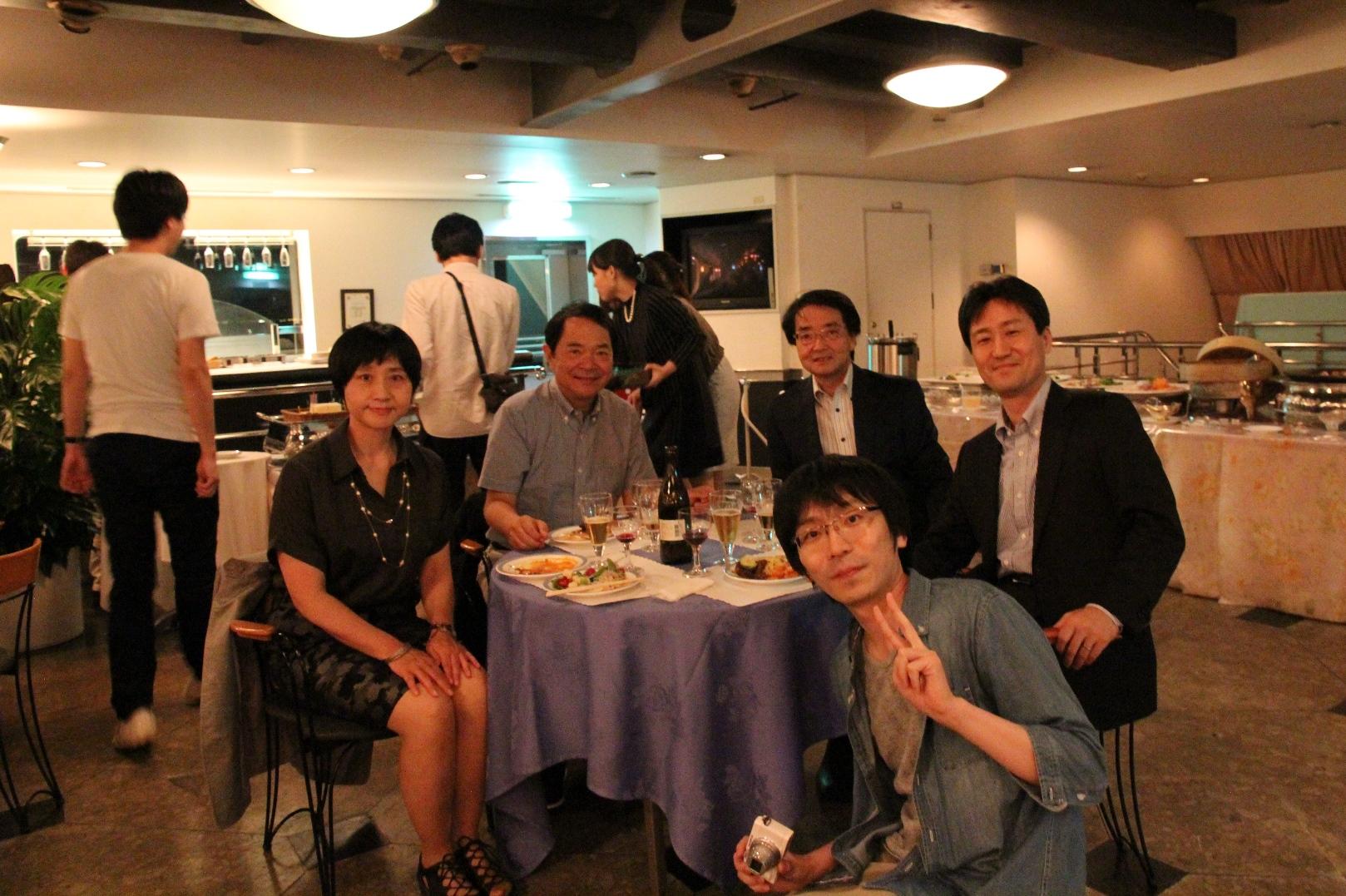 医局旅行2015(テーブル2)