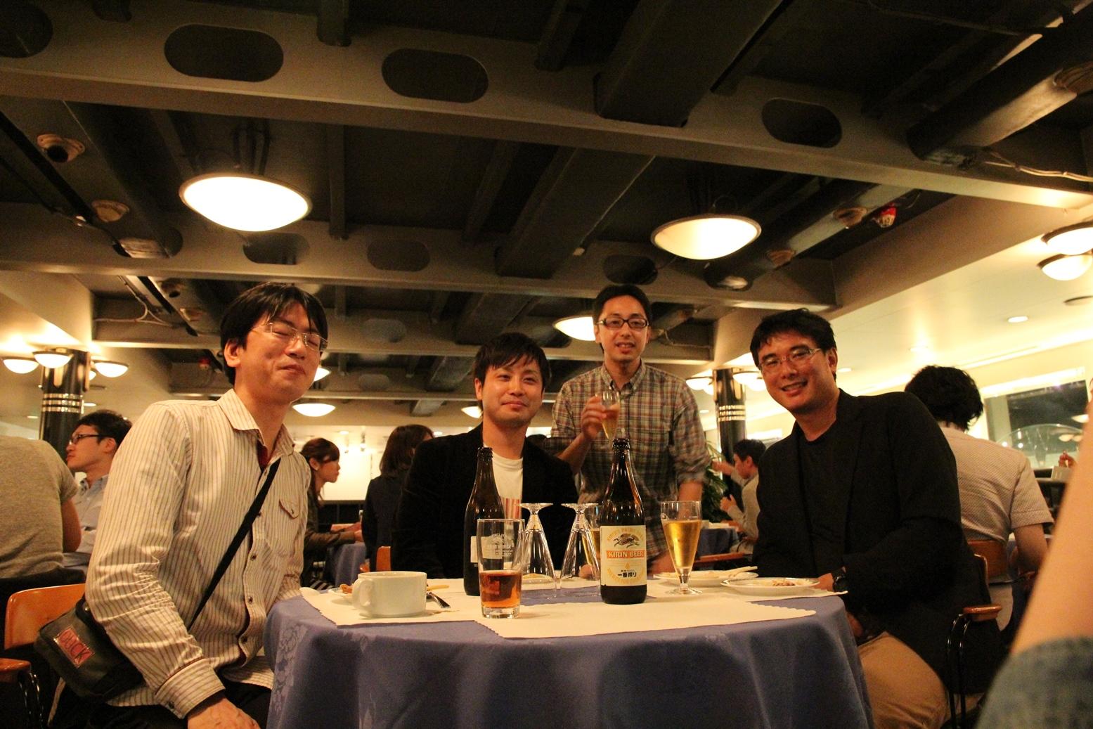 医局旅行2015(テーブル3)