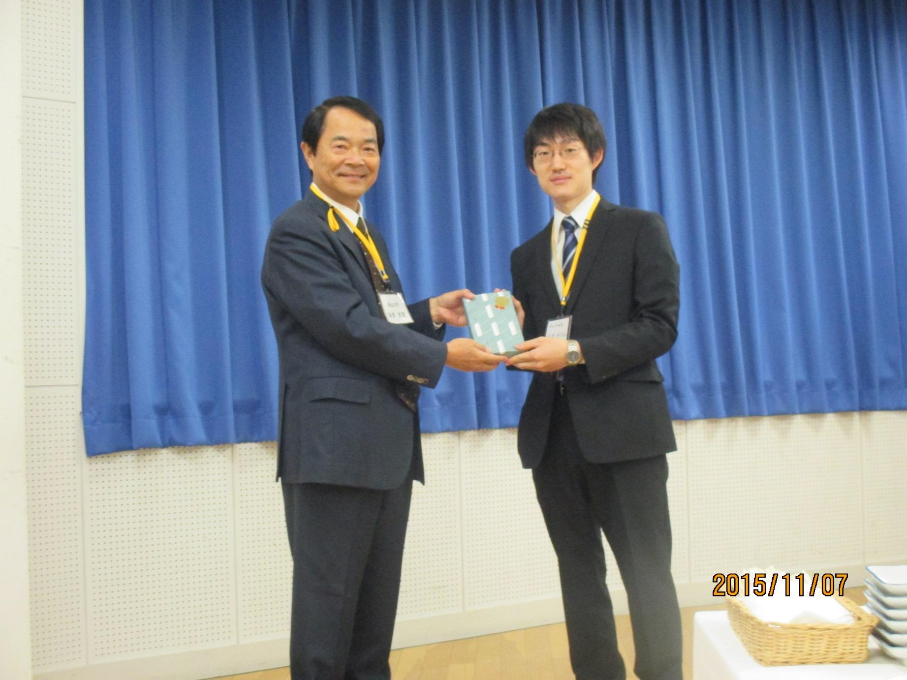 内科レジデントカンファレンス2015 in OKAYAMA (谷本光音先生,中野靖浩先生)