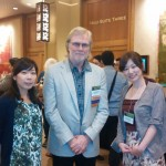 Tenth AACR-JCA joint conference in Maui (Frank McCormick先生と磯崎英子先生)