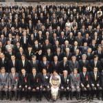 谷本光音教授就任15周年記念祝賀会(集合写真)