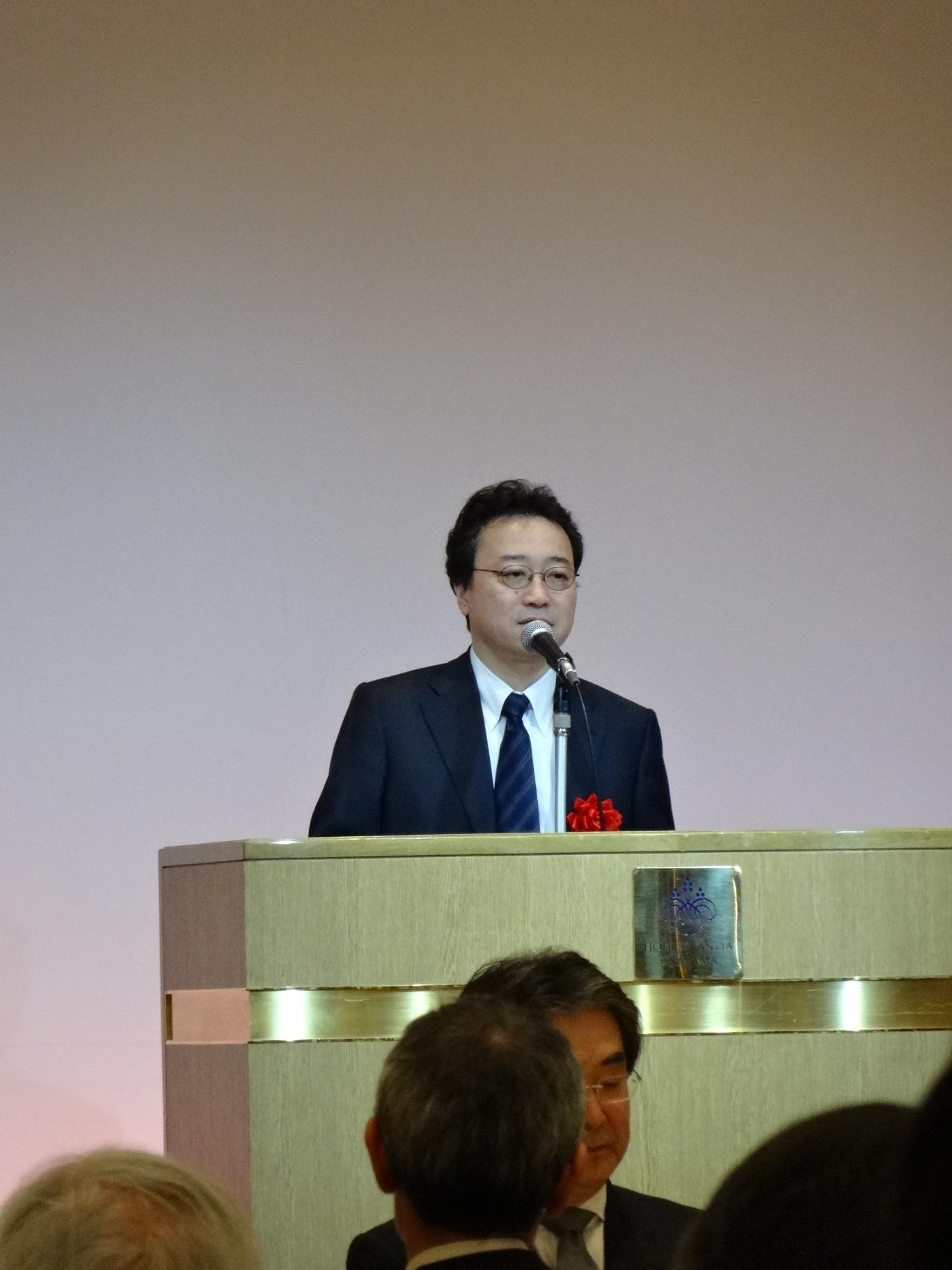 谷本光音教授就任15周年記念祝賀会(赤司浩一先生御祝辞)
