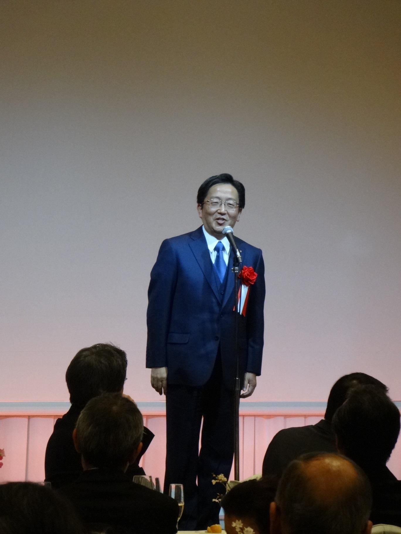 谷本光音教授就任15周年記念祝賀会(那須保友先生御祝辞)