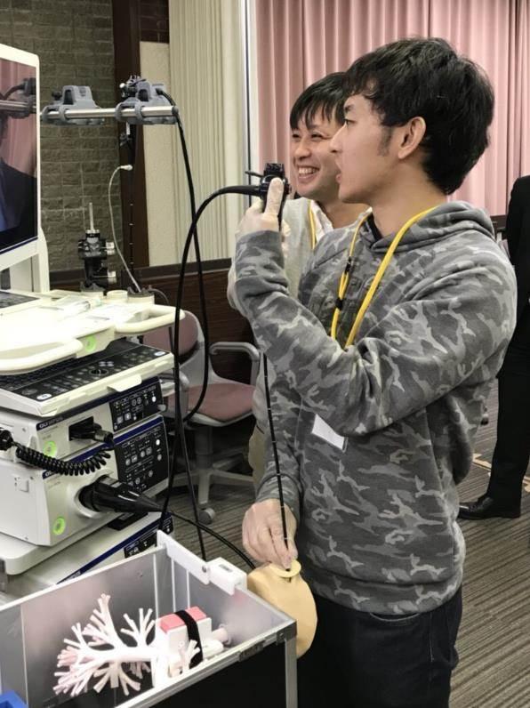 呼吸器内視鏡ハンズオンセミナー3