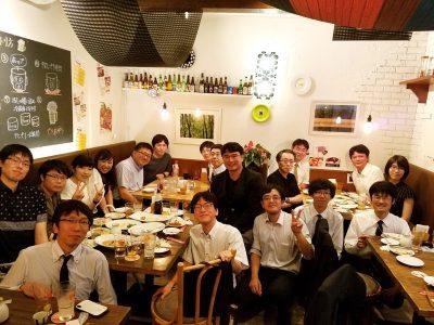 日本呼吸器学会・日本肺癌学会合同地方会(食事会)